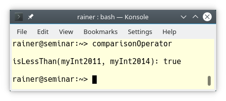 comparisonOperator