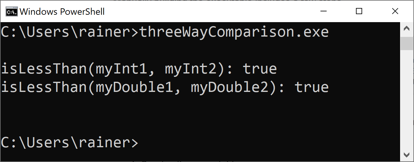threeWayComparison