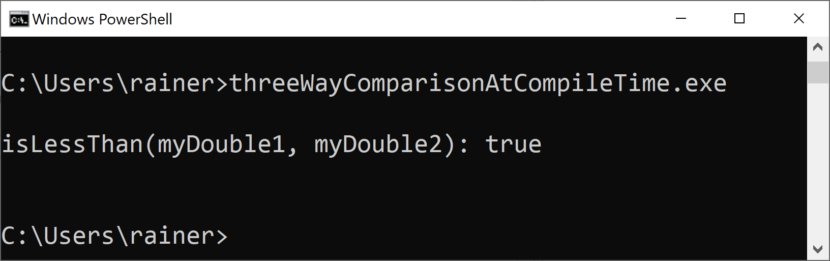 threeWayComparisonAtComileTime