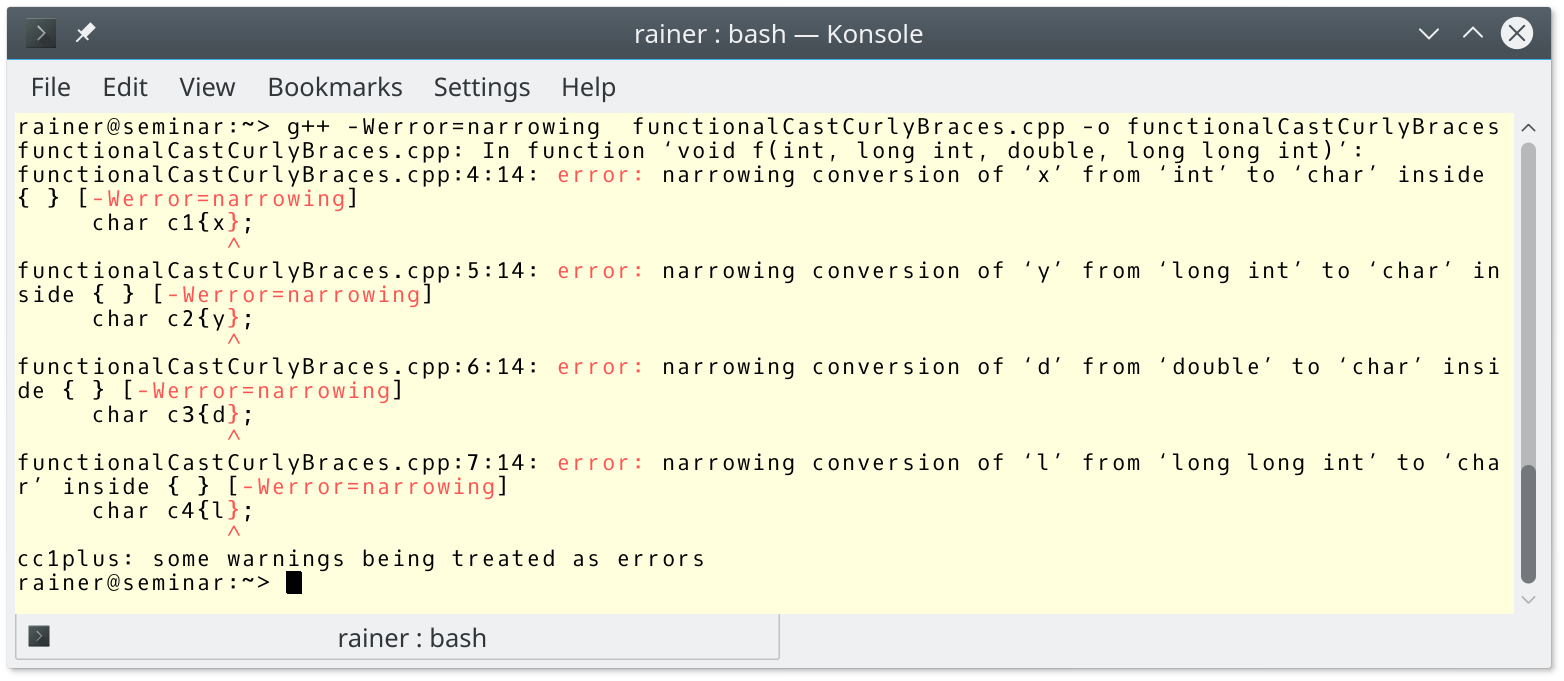 narrowingConversionError