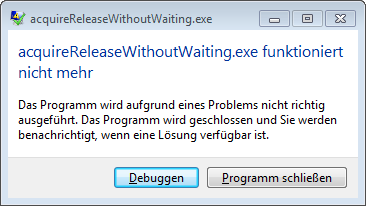 acquireReleaseWithoutWaitingWin