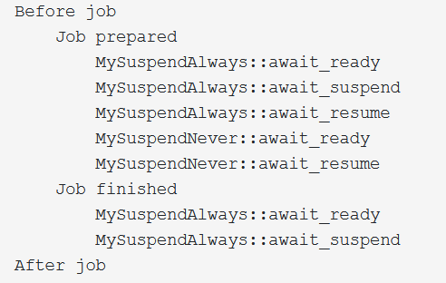 startJobWithComments